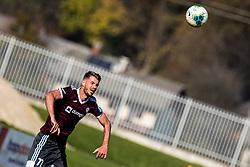 Ozbej Kuhar of NK Triglav during football match between NK Triglav and NK CB24 Tabor Sezana in 15th Round of Prva liga Telekom Slovenije 2019/20, on October 26, 2019 in Sportni park Kranj, Kranj, Slovenia. Photo Grega Valancic / Sportida