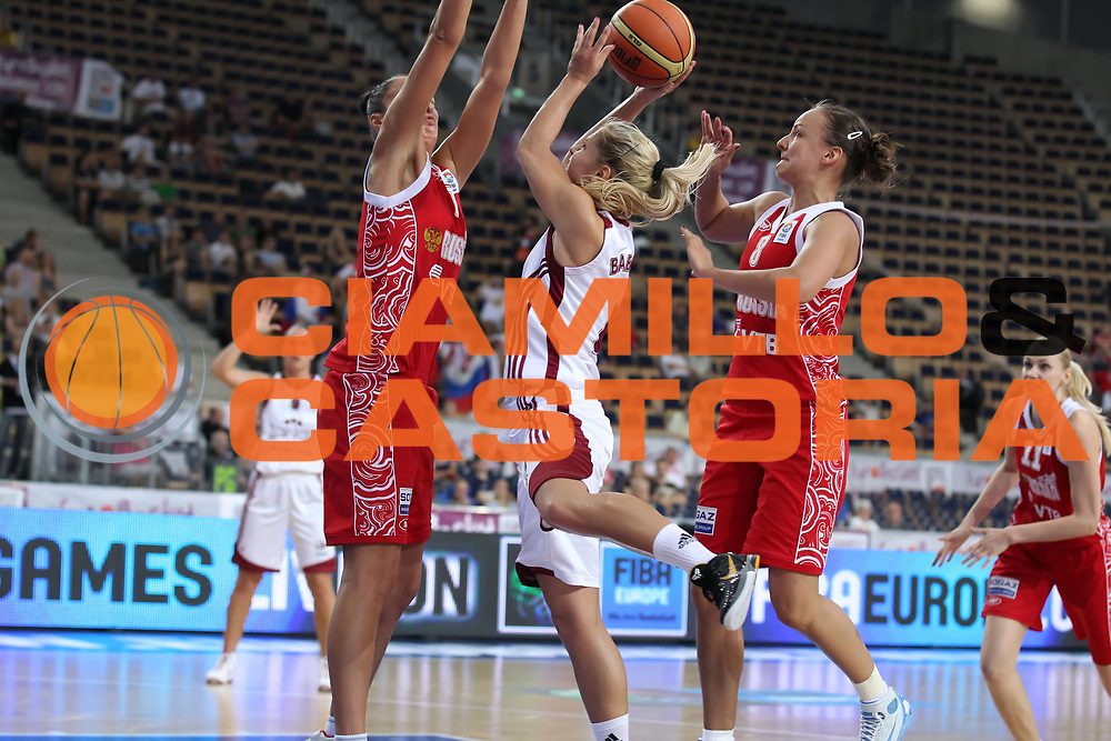DESCRIZIONE : Lodz Poland Polonia Eurobasket Women 2011 Quarter Final Round Lettonia Russia Latvia Russia<br /> GIOCATORE : Elina Babkina<br /> SQUADRA : Latvia Lettonia<br /> EVENTO : Eurobasket Women 2011 Campionati Europei Donne 2011<br /> GARA : Lettonia Russia Latvia Russia<br /> DATA : 29/06/2011<br /> CATEGORIA : <br /> SPORT : Pallacanestro <br /> AUTORE : Agenzia Ciamillo-Castoria/E.Castoria<br /> Galleria : Eurobasket Women 2011<br /> Fotonotizia : Lodz Poland Polonia Eurobasket Women 2011 Quarter Final Round Lettonia Russia Latvia Russia<br /> Predefinita :