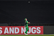 14th January 2019, Melbourne Cricket Ground, Melbourne, Australia; Australian Big Bash Cricket, Melbourne Stars versus Hobart Hurricanes;  Ben Dunk of the Melbourne Stars takes a catch on the boundary