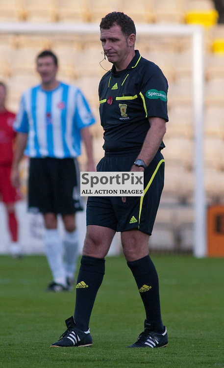 Referee John McKendrick, Livingston v Hamilton SFL Division 1 League Match
