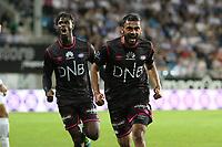 Fotball , 16. september 2016 , Eliteserien , Tippeligaen , Haugesund - Vålerenga<br />Ghayas Zahid fra Vålerenga feirer mål mot Haugesund.<br />Foto: Andrew Halseid Budd , Digitalsport