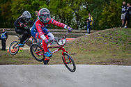 #2 (SMULDERS Merel) NED during practice at Round 3 of the 2019 UCI BMX Supercross World Cup in Papendal, The Netherlands