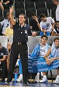 DESCRIZIONE : Madrid Spagna Spain Eurobasket Men 2007 Qualifying Round Italia Turchia Italy Turkey GIOCATORE : Carlo Recalcati <br /> SQUADRA : Nazionale Italia Uomini Italy <br /> EVENTO : Eurobasket Men 2007 Campionati Europei Uomini 2007 <br /> GARA : Italia Turchia Italy Turkey <br /> DATA : 10/09/2007 <br /> CATEGORIA : Ritratto <br /> SPORT : Pallacanestro <br /> AUTORE : Ciamillo&amp;Castoria/M.Kulbis <br /> Galleria : Eurobasket Men 2007 <br /> Fotonotizia : Madrid Spagna Spain Eurobasket Men 2007 Qualifying Round Italia Turchia Italy Turkey Predefinita :