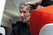 SAILING - BARCELONA WORLD RACE 2010-2011 - WELLINGTON (NZ) - COOK STRAIT - 22/02/2011 - PHOTO : CHRIS CAMERON / DPPI / BARCELONA WORLD RACE<br /> GROUPE BEL - Kito de Pavant (FRA) / Sebastien Audigane (FRA)