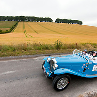Paul Crosby and Andy Pullan in the Arrive & Drive AC March 16/80 Special (A&D)  on the Royal Automobile Club 1000 Mile Trial 2015