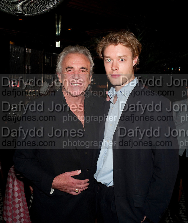 PETER STRINGFELLOW; SIMON CABLE, launch of Fabulous Haircare Range, Frankie's Italian Bar and Grill, 3 Yeomans Row, off Brompton Road, London SW3, 7pm