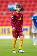 Jamie Semple (#39) of Motherwell FC during the Ladbrokes Scottish Premiership match between St Johnstone and Motherwell at McDiarmid Stadium, Perth, Scotland on 11 May 2019.