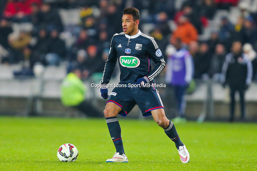 Corentin Tolisso  - 20.01.2015 - Nantes / Lyon  - Coupe de France 2014/2015<br /> Photo : Vincent Michel / Icon Sport