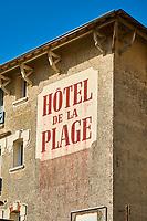France, Vendée (85), Saint-Jean-de-Monts, hotel de la plage // France, Vendée, Saint-Jean-de-Monts, the beach
