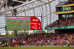 DUBLIN, REPUBLIC OF IRELAND - Saturday, August 5, 2017: Liverpool supporters see their side beat Athletic Club Bilbao 3-1 during a preseason friendly match between Athletic Club Bilbao and Liverpool at the Aviva Stadium. (Pic by David Rawcliffe/Propaganda)