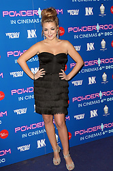 Sheridan Smith arriving at the premiere of Powder Room, in London, Wednesday, 27th November 2013. Picture by Stephen Lock / i-Images