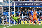 GOAL 1-0 Birmingham City midfielder Jude Bellingham (22) scores during the EFL Sky Bet Championship match between Birmingham City and Cardiff City at the Trillion Trophy Stadium, Birmingham, England on 18 January 2020.