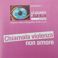 Catalogue exhibition &quot;Chiamala violenza, non amore&quot; (Milano, 2013)<br /> <br /> page 8