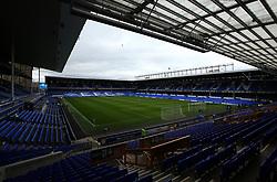 A general view of Goodison Park, home to Everton - Mandatory by-line: Robbie Stephenson/JMP - 31/03/2018 - FOOTBALL - Goodison Park - Liverpool, England - Everton v Manchester City - Premier League