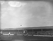 02/03/1958<br /> 03/02/1958<br /> 02 March 1958<br /> Soccer, League of Ireland: Drumcondra v Waterford at Tolka Park.