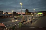 Asda car-park, Clapham Junction South London, London.  22 May 2016