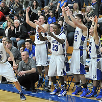 12.27.2013 Cloverleaf at Midview Boys Varsity Basketball