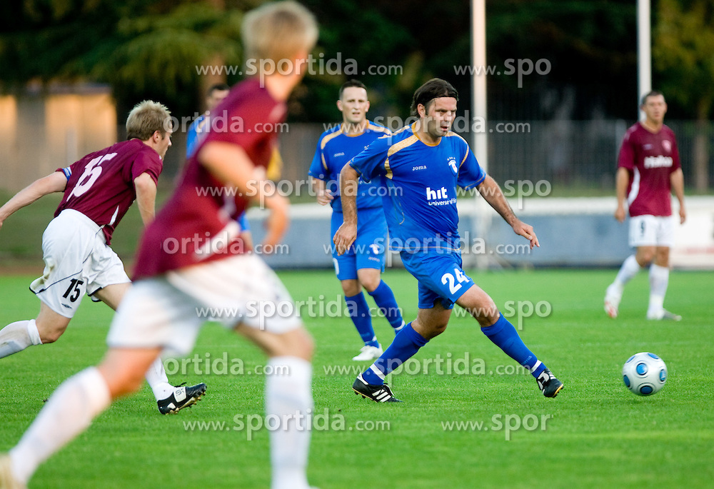 Enes Demirovic of Gorica at 1st football match of 2nd preliminary Round of UEFA Europe League between ND Gorica and FC Lahti, on July 16 2009, in Nova Gorica, Slovenia. (Photo by Vid Ponikvar / Sportida)