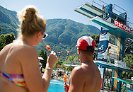 Audience<br /> Bolzano, Italy <br /> 22nd FINA Diving Grand Prix 2016 Trofeo Unipol<br /> Diving<br /> Men's 3m synchronised springboard final <br /> Day 03 17-07-2016<br /> Photo Giorgio Perottino/Deepbluemedia/Insidefoto