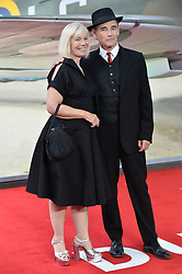 © Licensed to London News Pictures. 13/07/2017. London, UK. CLAIRE VAN KAMPEN and SIR MARK RYLANCE attends the Dunkirk World Film Premiere. Photo credit: Ray Tang/LNP