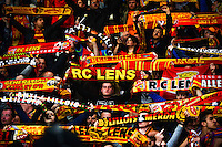Supporters Lens - 03.02.2015 - Lille / Lens - 35eme journee de Ligue 1<br />