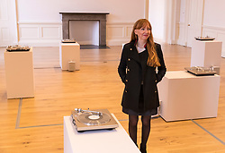 The Scottish National Gallery of Modern Art launches its second in a six-part series ion exhibitions entitled NOW which brings together the best of contemporary art being made in Scotland, with work by leading international artists. The artists featured in this series are Susan Philipsz, Yto Barrada, Michael Armitage, Hiwa K, Sarah Rose and Kate Davis.<br /> <br /> Pictured: Susan Philipsz inside her 2016 installation, Seven Tears