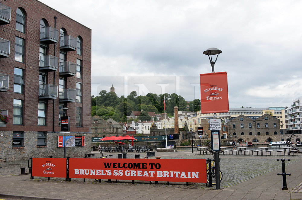 © Licensed to London News Pictures. 09/01/2018. Bristol, UK. FILE PICTURE dated 05/08/2017; Bristol, UK. Picture shows GVs of Gas Ferry Road and Steamship House near the SS Great Britain tourist attraction which was evacuated following a bomb alert last August. Today, 09/01/2018, Bristol man James Francis has admitted trying to blow up a block of flats near SS Great Britain in Bristol docks. Francis, who lived in Kingdom House, told the police he wanted to blow up his block of flats, and has pleaded guilty to arson, threat to damage or destroy property and providing false information about a bomb hoax. He will appear before Bristol Crown Court for sentencing on Friday 02 February. Picture shows GVs of Gas Ferry Road and Steamship House near the SS Great Britain, which was the scene on 04/08/2017 of a what was then described by police as a chemical incident. Hundreds of residents were evacuated from five blocks, Kingdom House, Steamship House, Great Western House, Great Eastern House and Horsley House, for more than five hours Police officers, firefighters and bomb disposal experts were called around 8pm on Friday, August 4. The police cordon was later lifted and residents allowed to return to their homes. It is reported that a man was detained by police in connection with the incident. Photo credit: Simon Chapman/LNP