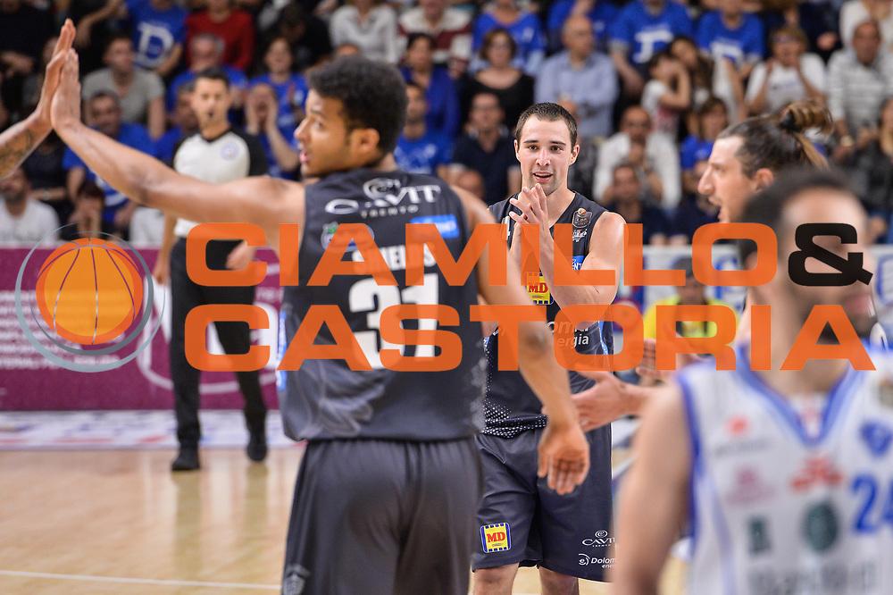 Aaron Craft<br /> Banco di Sardegna Dinamo Sassari - Dolomiti Energia Aquila Basket Trento<br /> Legabasket Serie A LBA Poste Mobile 2016/2017<br /> Playoff Quarti Gara3<br /> Sassari 16/05/2017<br /> Foto Ciamillo-Castoria