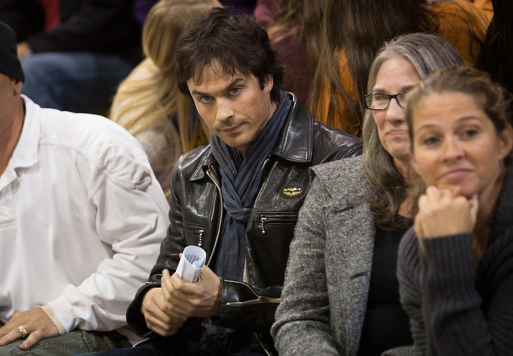 Nov. 12, 2014  Mandeville, LA, Ian Somerhalder at a permit hearing in St. Tammany Parish LA where he spoke out against fracking. <br /> Helis OIl applied for a drilling project for the first fracking project in St. Tammany Parish where Somerhalder is from. <br /> Born and raised in Covington LA, Somerhalder expressed his love or the area, and the need to protect the wetlands, where he says, fracking had no place.