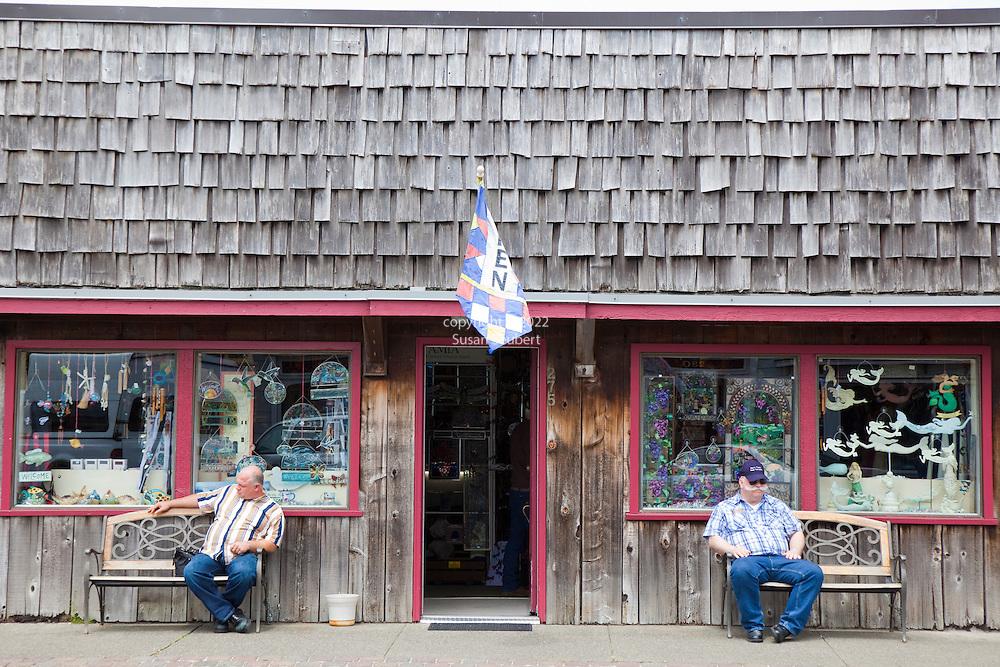 Old Town Bandon, Oregon