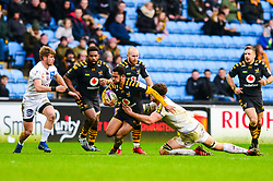 Zach Kibirige of Wasps - Mandatory by-line: Dougie Allward/JMP - 18/01/2020 - RUGBY - Ricoh Arena - Coventry, England - Wasps v Bordeaux-Begles - European Rugby Challenge Cup