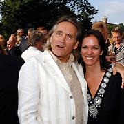 NLD/Amsterdam/20070606 - Wegener Haringparty Hilton 2007, Annemarie van Gaal en partner Frans de Vlieger
