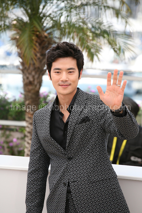 Kim Kang-woo, at The Taste of Money photocall at the 65th Cannes Film Festival France. Saturday 26th May 2012 in Cannes Film Festival, France.