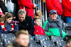 Bristol City fans - Rogan/JMP - 07/12/2019 - Craven Cottage - London, England - Fulham v Bristol City - Sky Bet Championship.