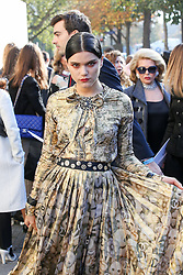 Soko bei der Chanel Modenschau während der Paris Fashion Week / 041016<br /> <br /> ***Chanel fashion show as part of Paris Fashion Week on october 04, 2016 in Paris***