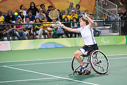 Charlotte FAMIN, Emmanuelle MORCH, FRA, Tennis Doubles at Rio 2016 Paralympic Games, Brazil
