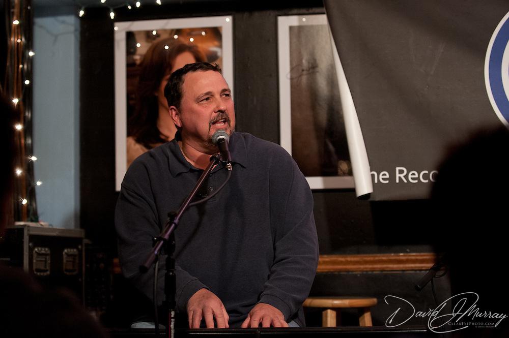 Warren Evans performing at The Bluebird Cafe in Nashville, TN, Jan. 29, 2012