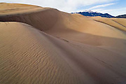 Great Sand Dunes National Park and Preserve, Sangre de Cristo Mountains