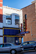 Butte, Montana, Club 13, Broadway Street, uptown