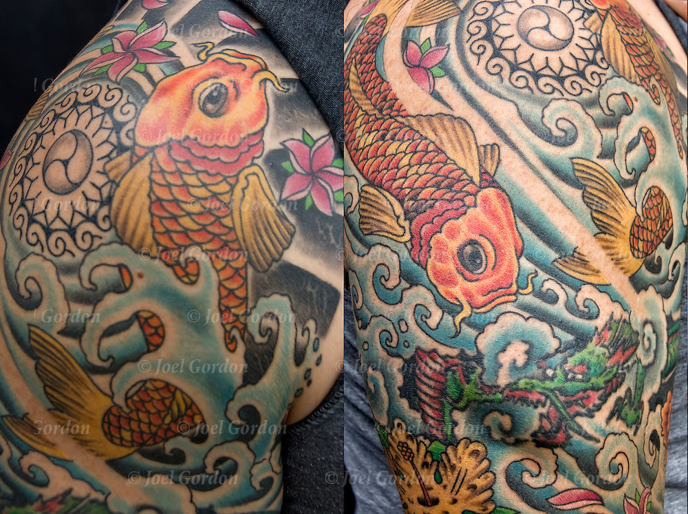 Body art or tattoos has entered the mainstream it is no longer considered a weird kind of subculture.<br />