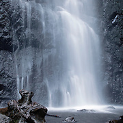 Waterfall Queureuilh, Mont-Dore, Auvergne