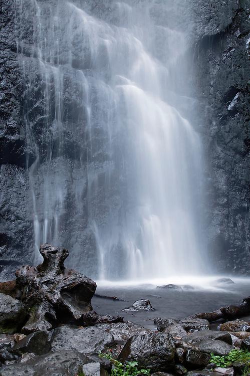 Waterfall Queureuilh, Mont-Dore, Auvergne