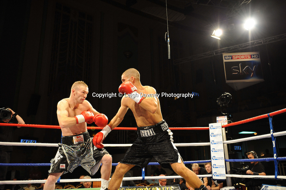 Tony Hill defeats Kevin Concepcion at The Troxy, Limehouse, London, 16th October 2010. Frank Maloney Promotions © Photo credit: Leigh Dawney