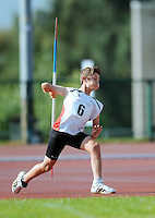 21 Aug 2016:  Euan Canniffee, from Louth.  Boys U14 Javelin.  2016 Community Games National Festival 2016.  Athlone Institute of Technology, Athlone, Co. Westmeath. Picture: Caroline Quinn