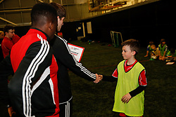 Bristol City Community Trust Filton Holiday Camp - Photo mandatory by-line: Rogan Thomson/JMP - 07966 386802 - 19/02/2015 - SPORT - FOOTBALL - Bristol, England - SGS Wise Campus.
