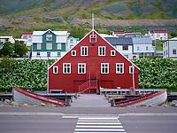 Herring Museum, Siglufjörður, North Iceland.