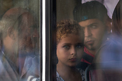 Immigrants arrive<br /> Syrians