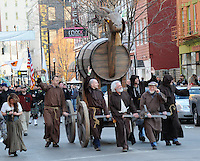 Bockfest Parade Over the Rhine Cincinnati Ohio