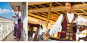 Service on the Irrawaddy Explorer cruise ship in Myanmar, for Haimark