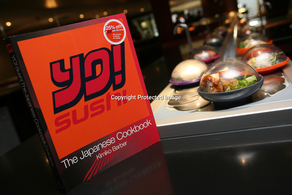 Launch of Yo!Sushi cookbook.